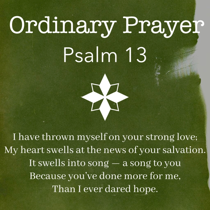 Ordinary Prayer